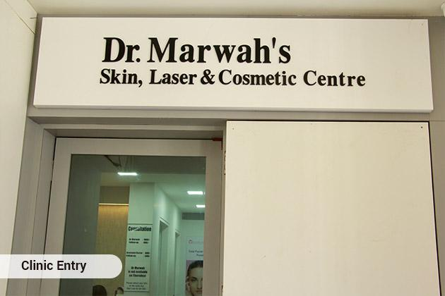 Dr. Marwah's Skin, Hair, Laser & Cosmetic Centre Clinic Entry