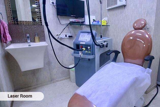 Dr. Marwah's Skin, Hair, Laser & Cosmetic Centre Laser Room